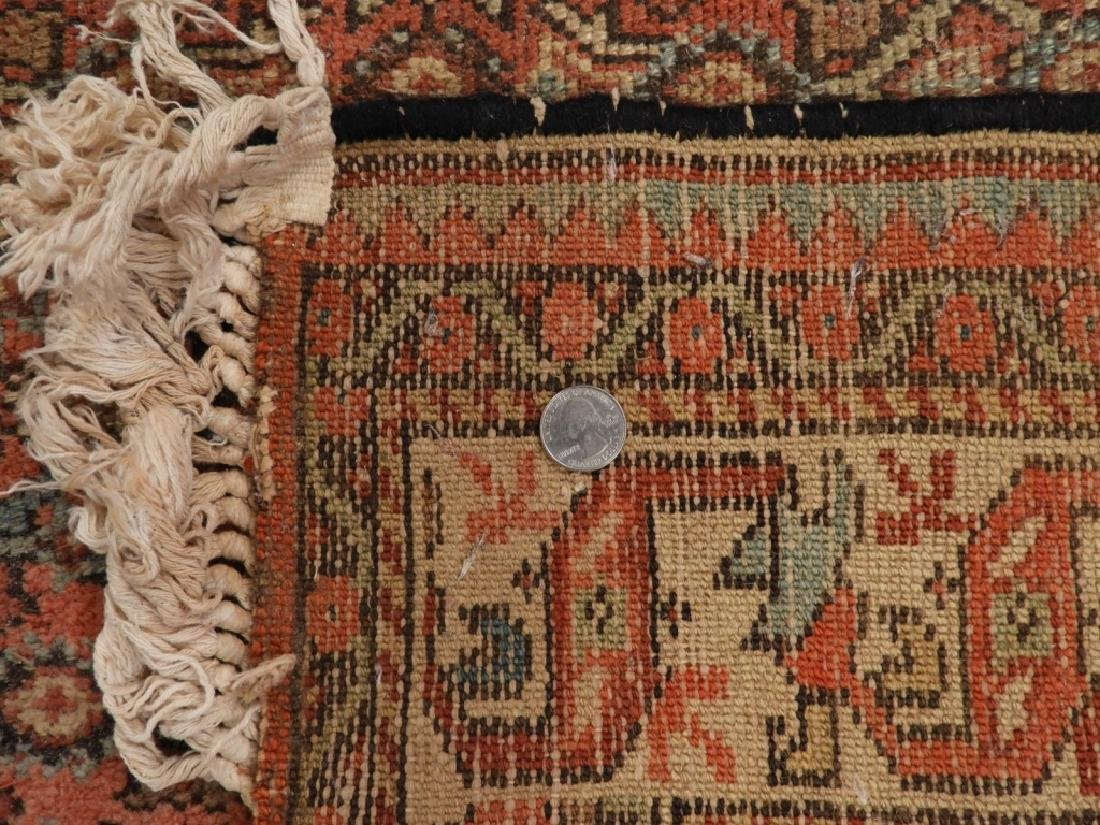 Persian Qum Wool Carpet Rug - 9