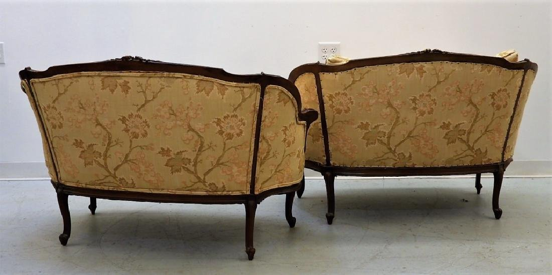 PR Louis XV Style Upholstered Canape Settees - 6