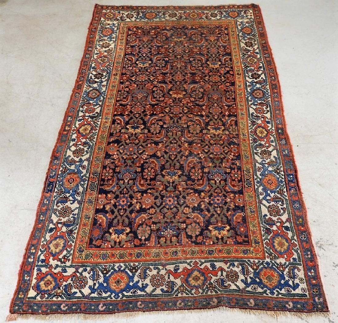 Antique Persian Bidjar Carpet Rug