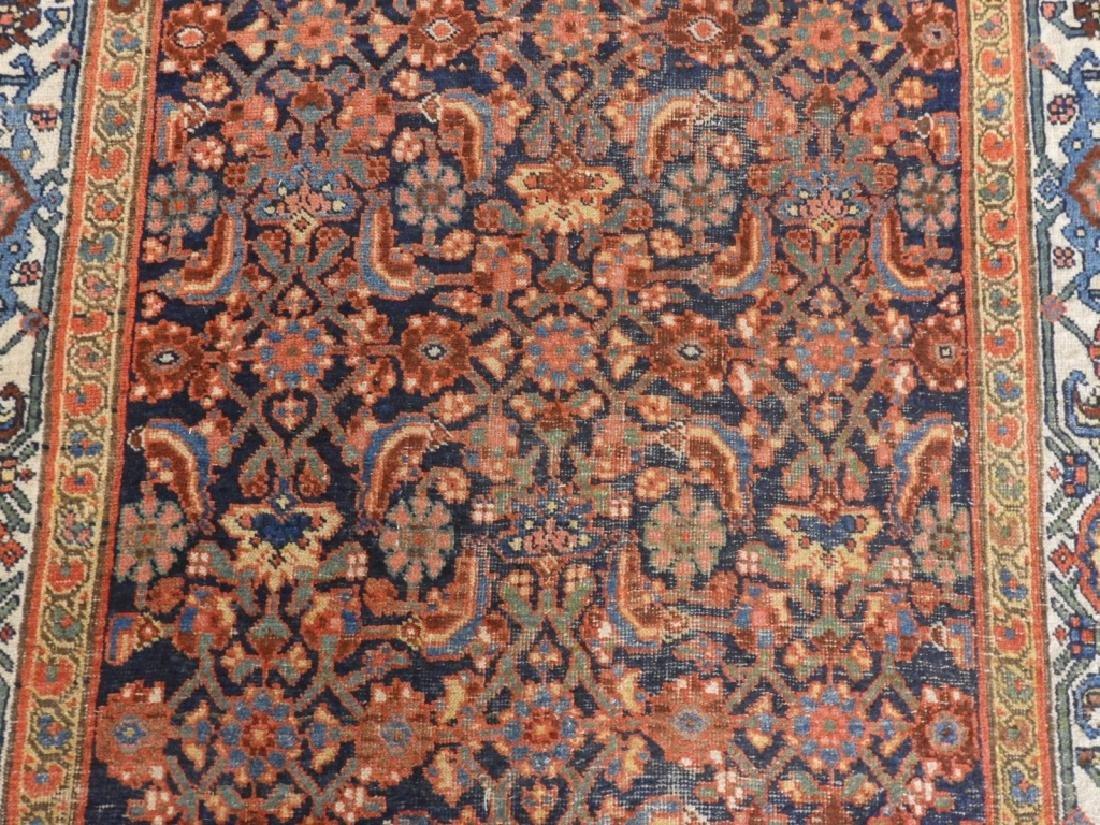 Antique Persian Bidjar Carpet Rug - 2