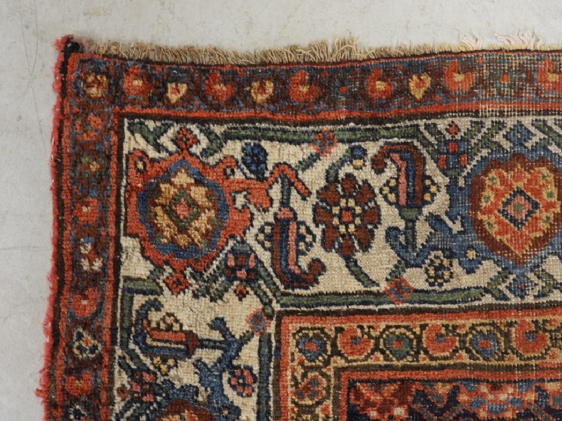 Antique Persian Bidjar Carpet Rug - 3