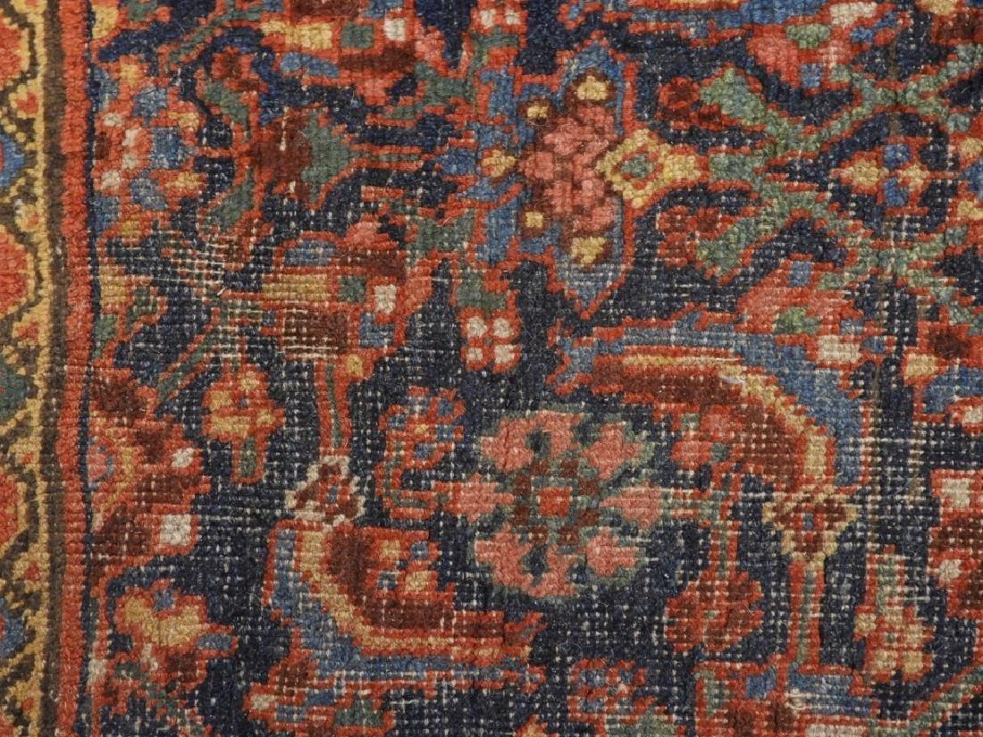 Antique Persian Bidjar Carpet Rug - 4