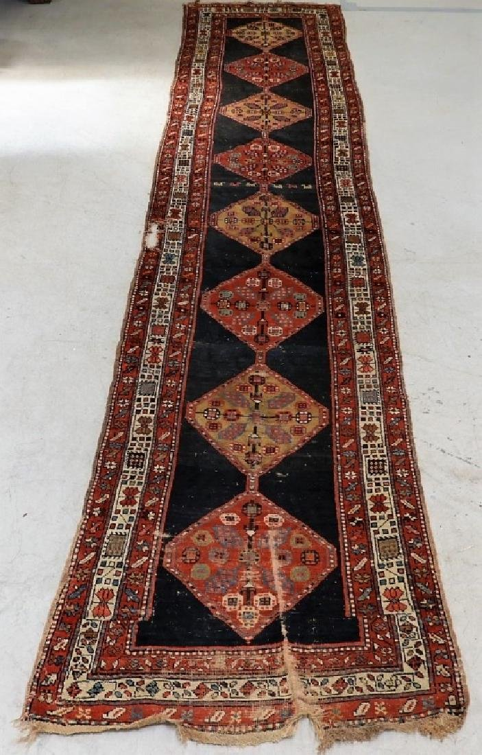 Antique Persian Caucasian Carpet Runner