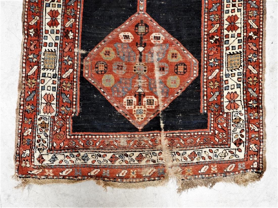 Antique Persian Caucasian Carpet Runner - 2