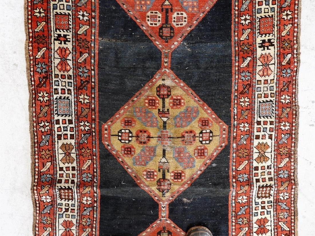 Antique Persian Caucasian Carpet Runner - 3