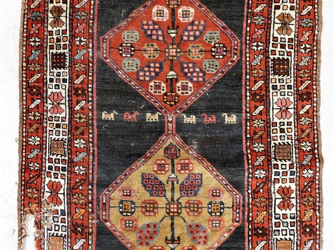 Antique Persian Caucasian Carpet Runner - 4