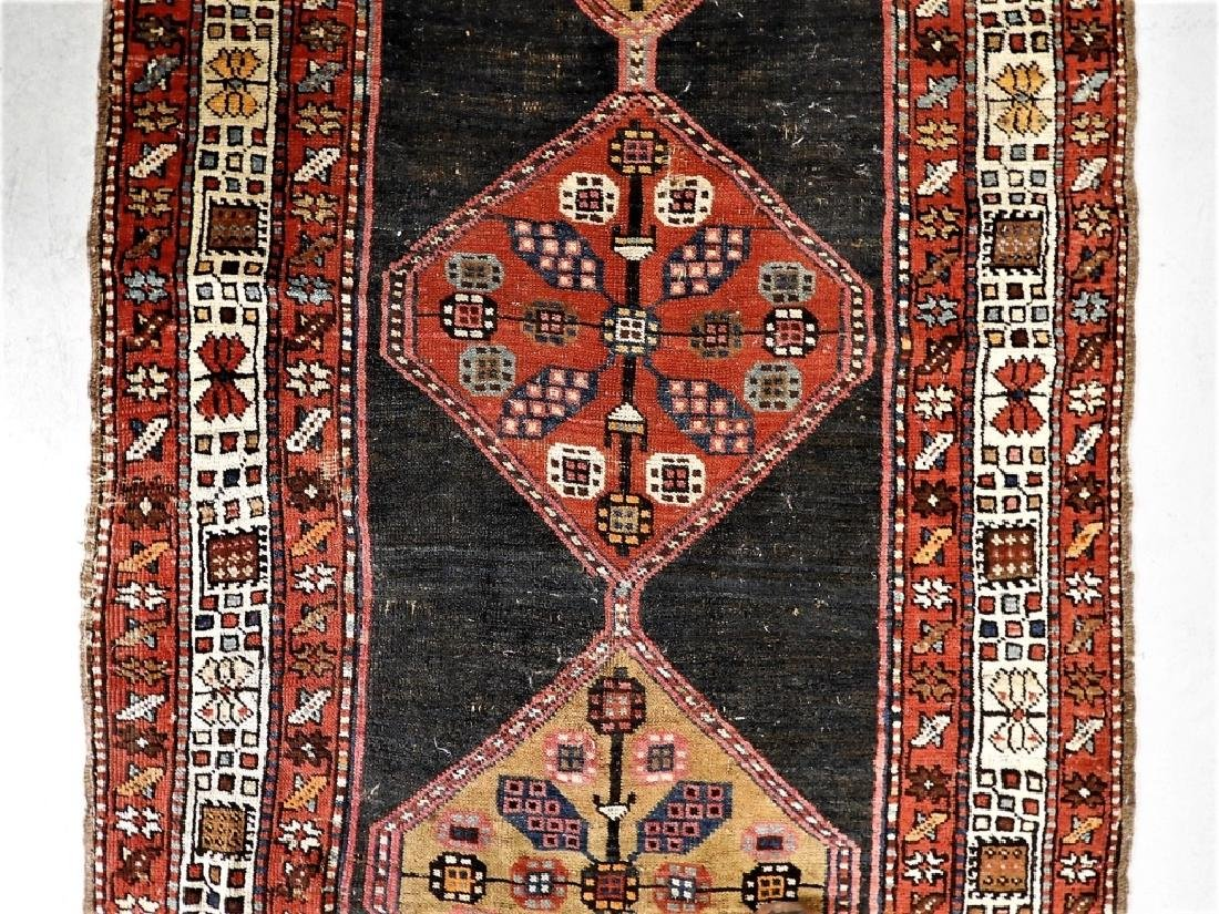 Antique Persian Caucasian Carpet Runner - 5