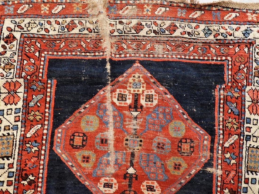Antique Persian Caucasian Carpet Runner - 8