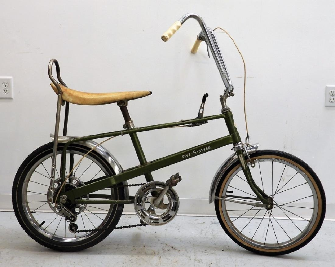 1970's Ross Apollo Five Speed Muscle Bicycle