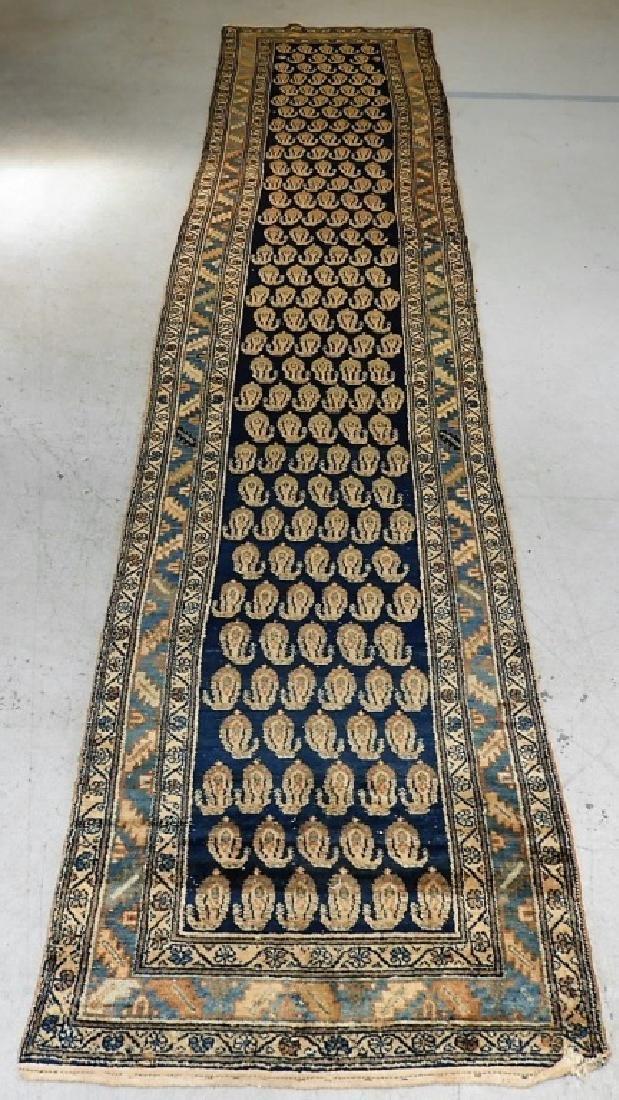 Antique Persian Bidjar Carpet Runner