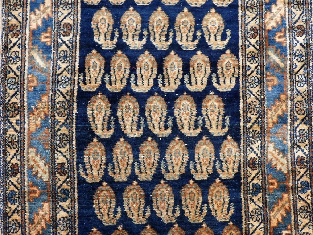 Antique Persian Bidjar Carpet Runner - 2