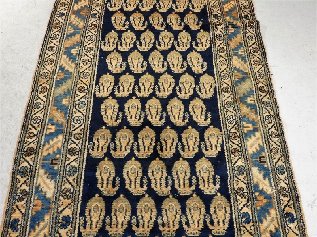 Antique Persian Bidjar Carpet Runner - 3