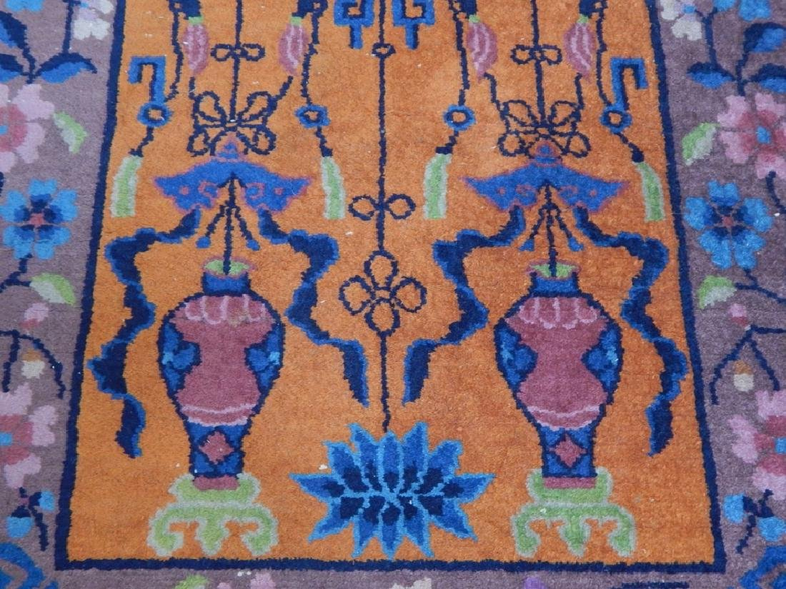 Chinese Art Deco Wool Carpet Rug Runner - 6