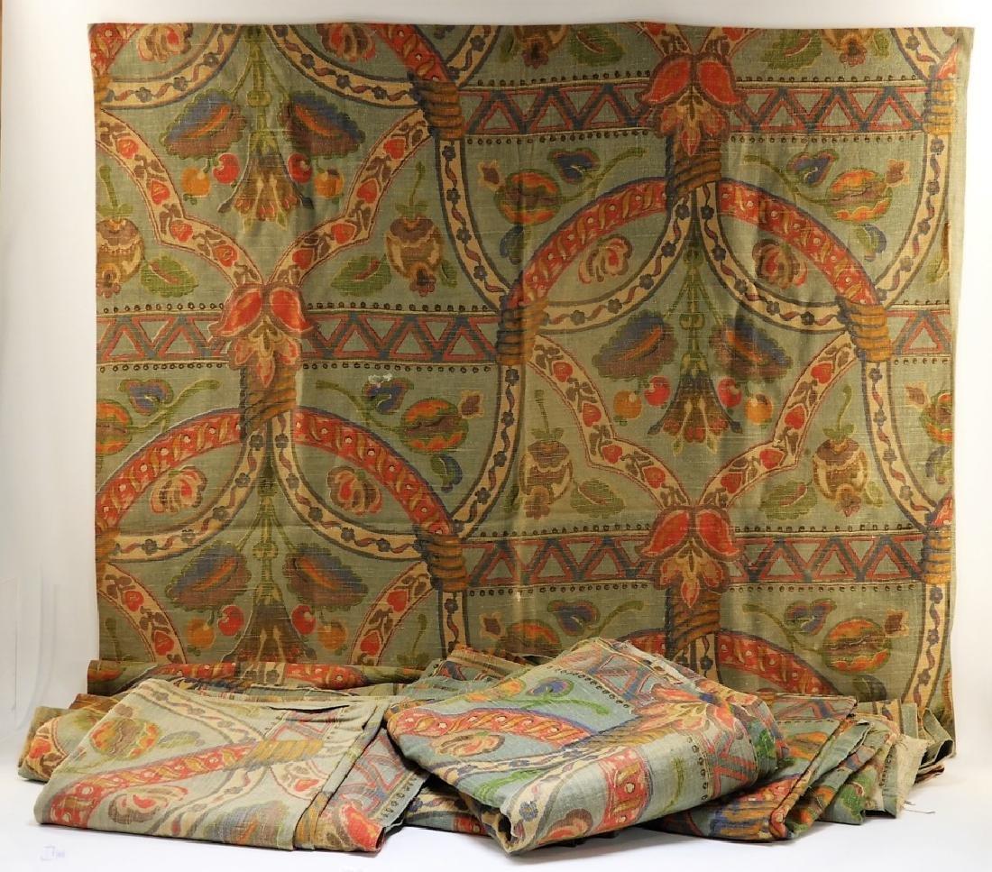 9 Vintage Design Rubidoux Fenway Linen Drapes