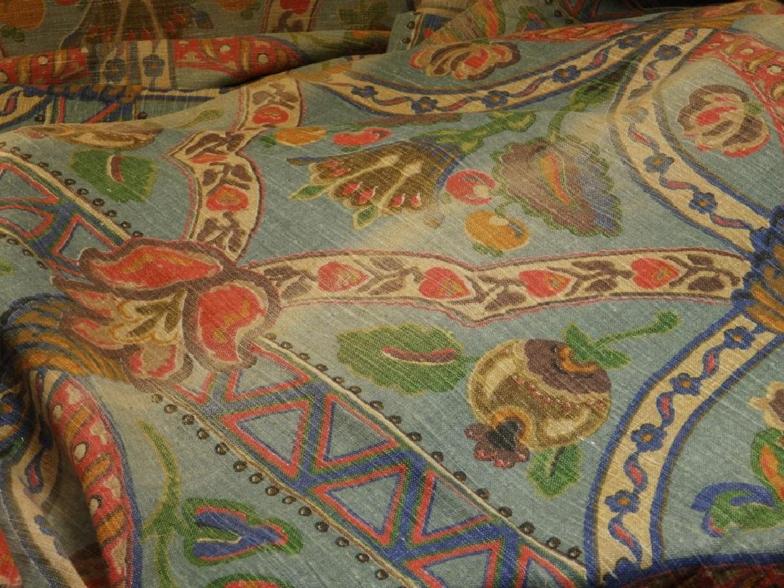 9 Vintage Design Rubidoux Fenway Linen Drapes - 5