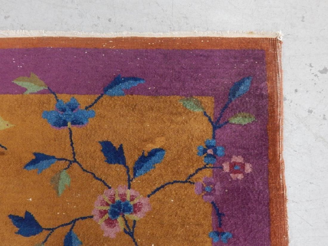 Chinese Art Deco Wool Carpet Rug Runner - 3