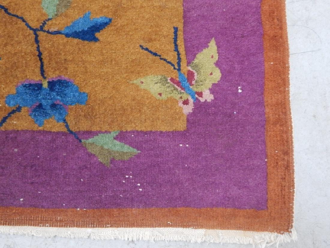 Chinese Art Deco Wool Carpet Rug Runner - 4