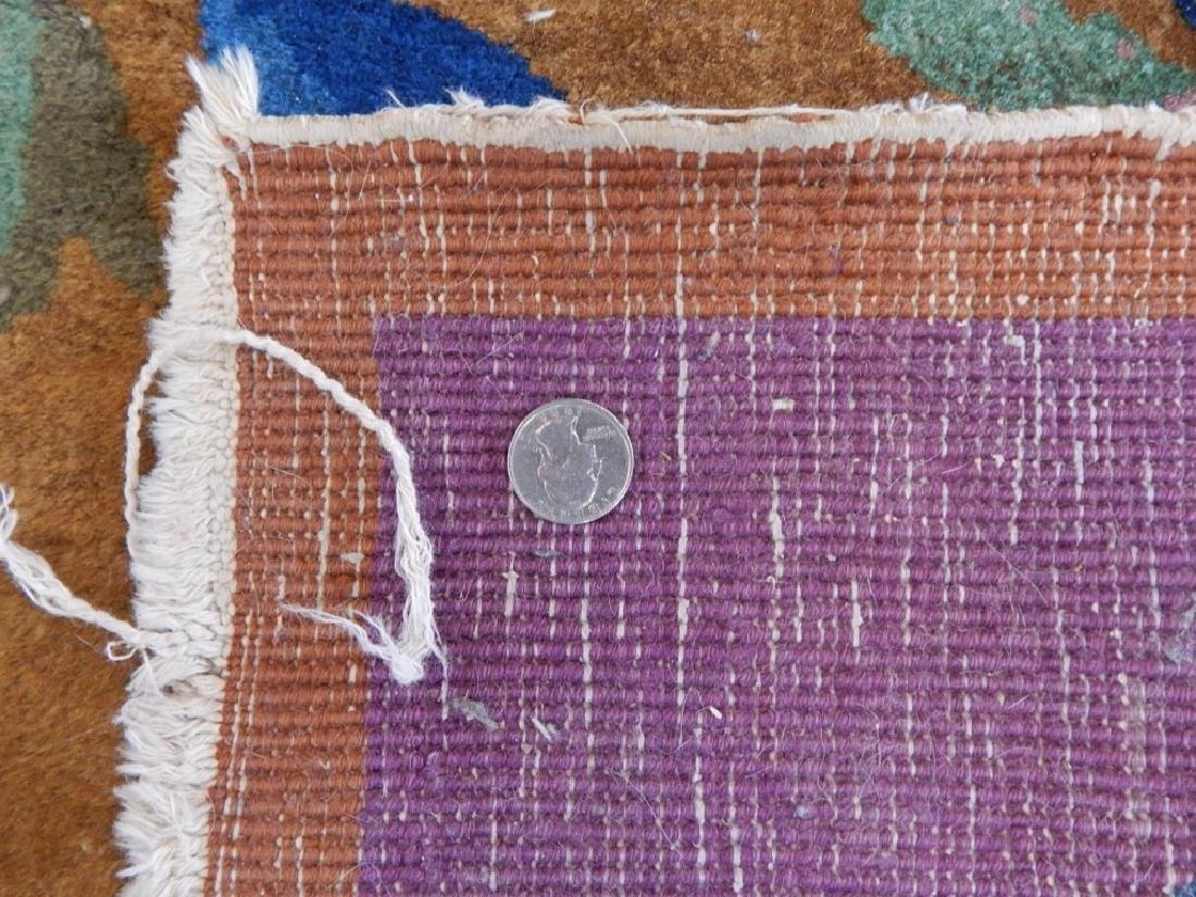 Chinese Art Deco Wool Carpet Rug Runner - 7