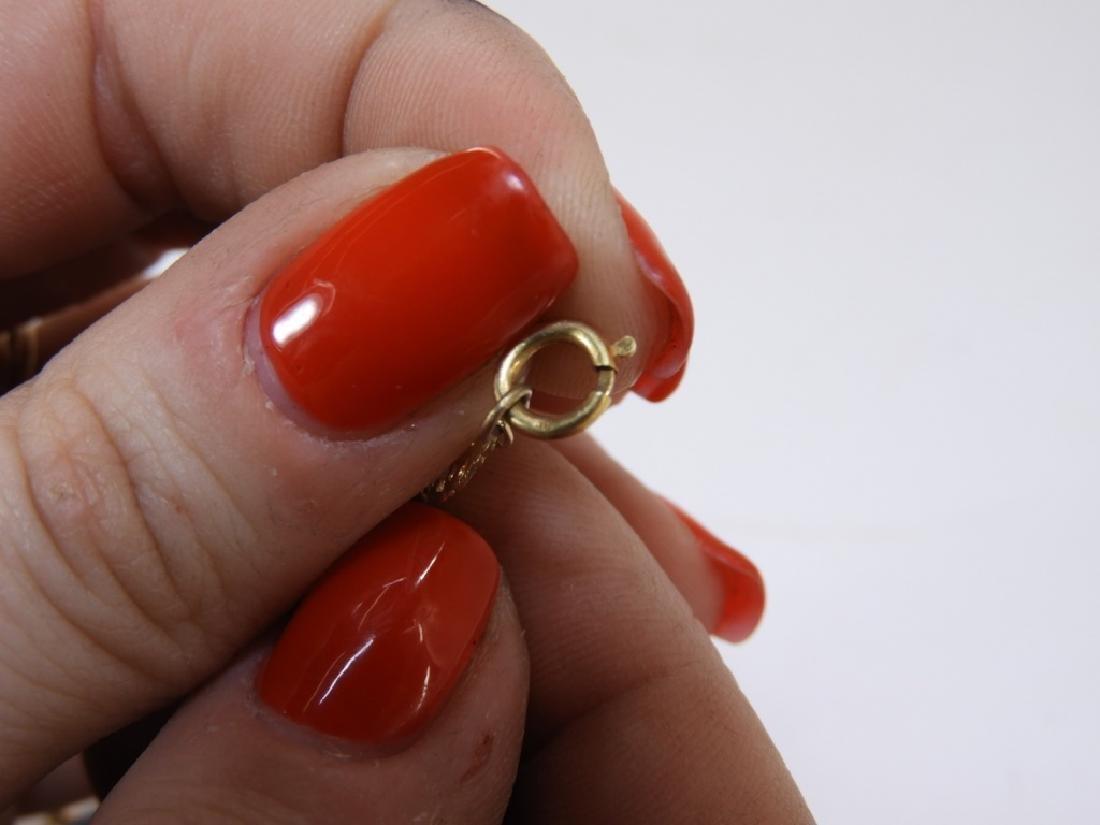 English Wedgwood Jasperware 14K Gold Necklace - 4