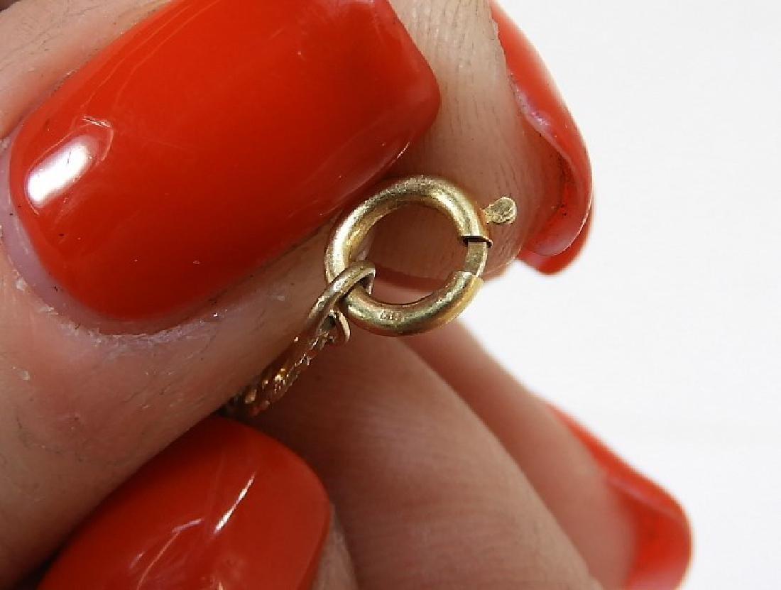 English Wedgwood Jasperware 14K Gold Necklace - 5