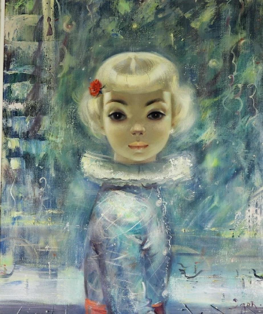 Igor Pantuhoff Portrait Painting of a Young Girl