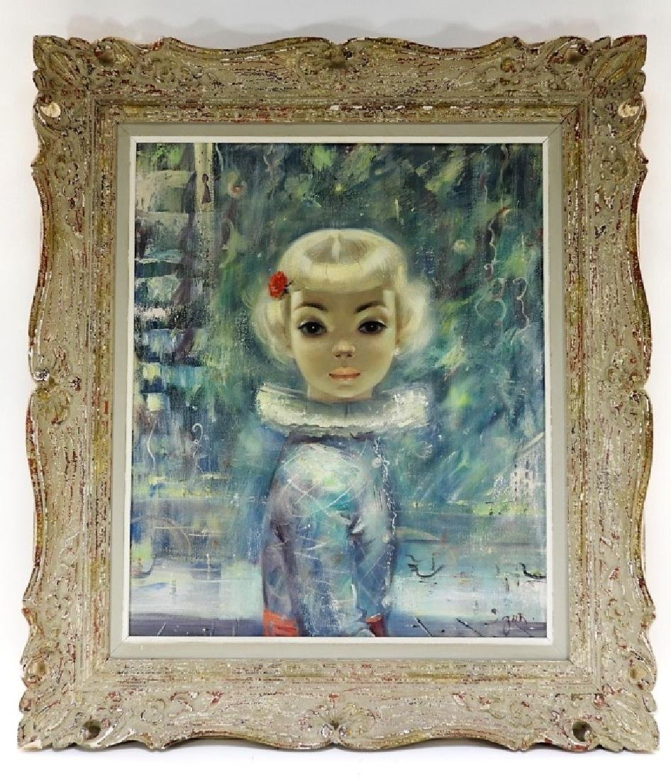Igor Pantuhoff Portrait Painting of a Young Girl - 2