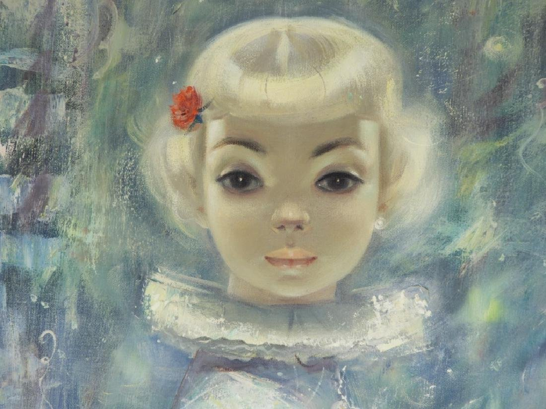 Igor Pantuhoff Portrait Painting of a Young Girl - 3