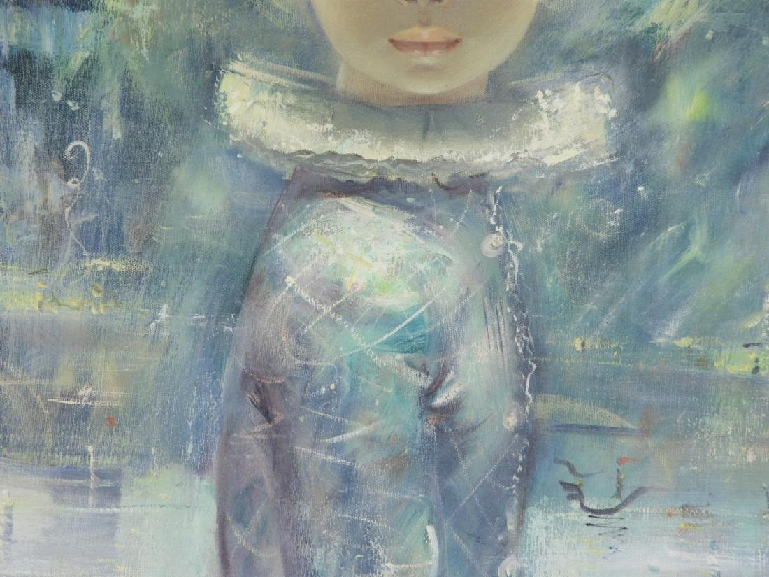 Igor Pantuhoff Portrait Painting of a Young Girl - 4
