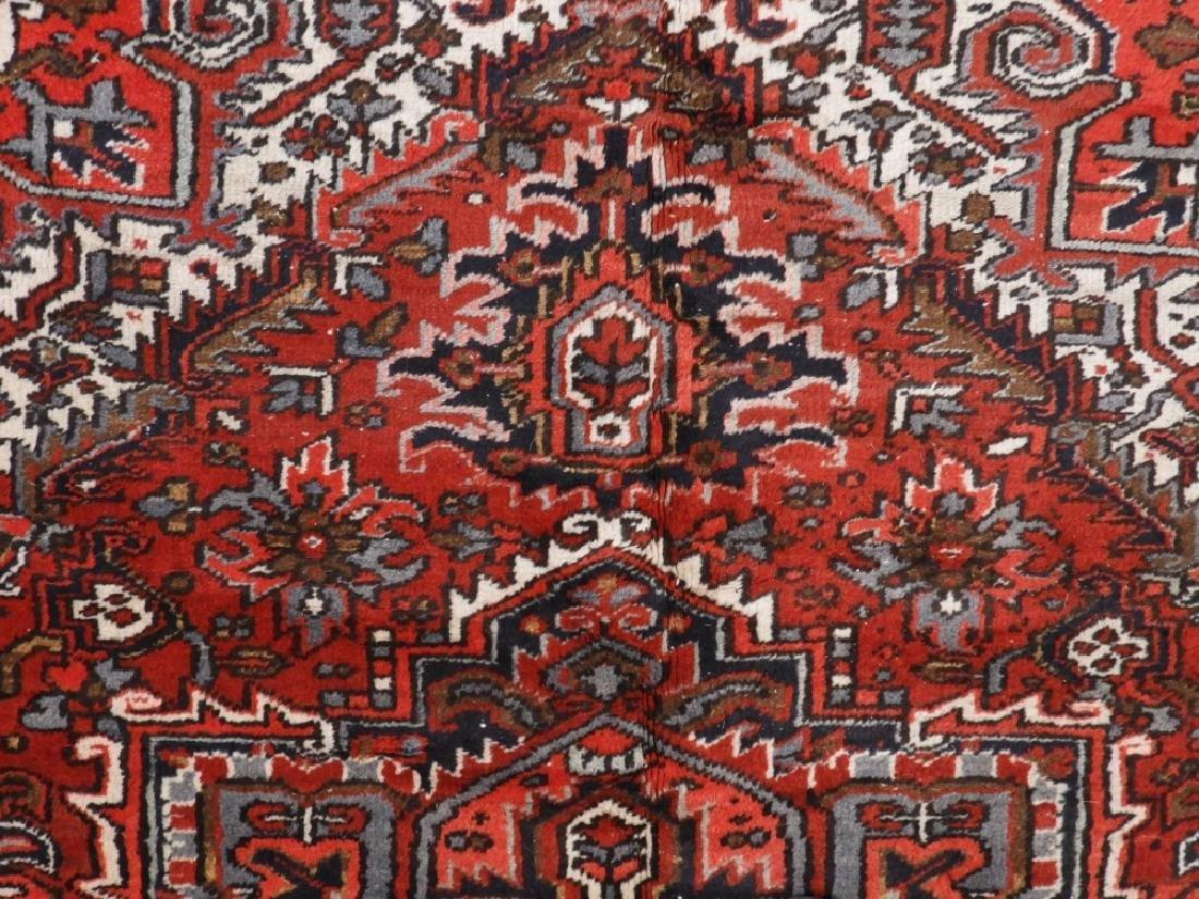 Persian Heriz Wool Carpet Rug - 3