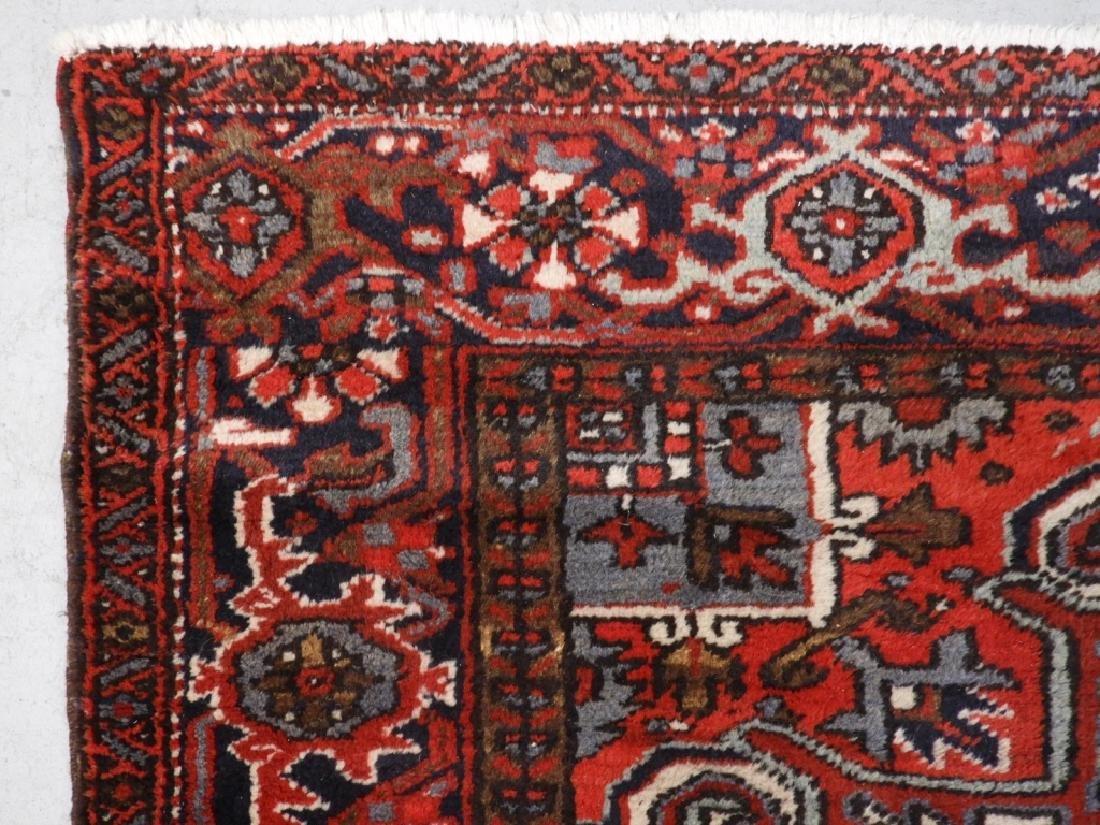 Persian Heriz Wool Carpet Rug - 4