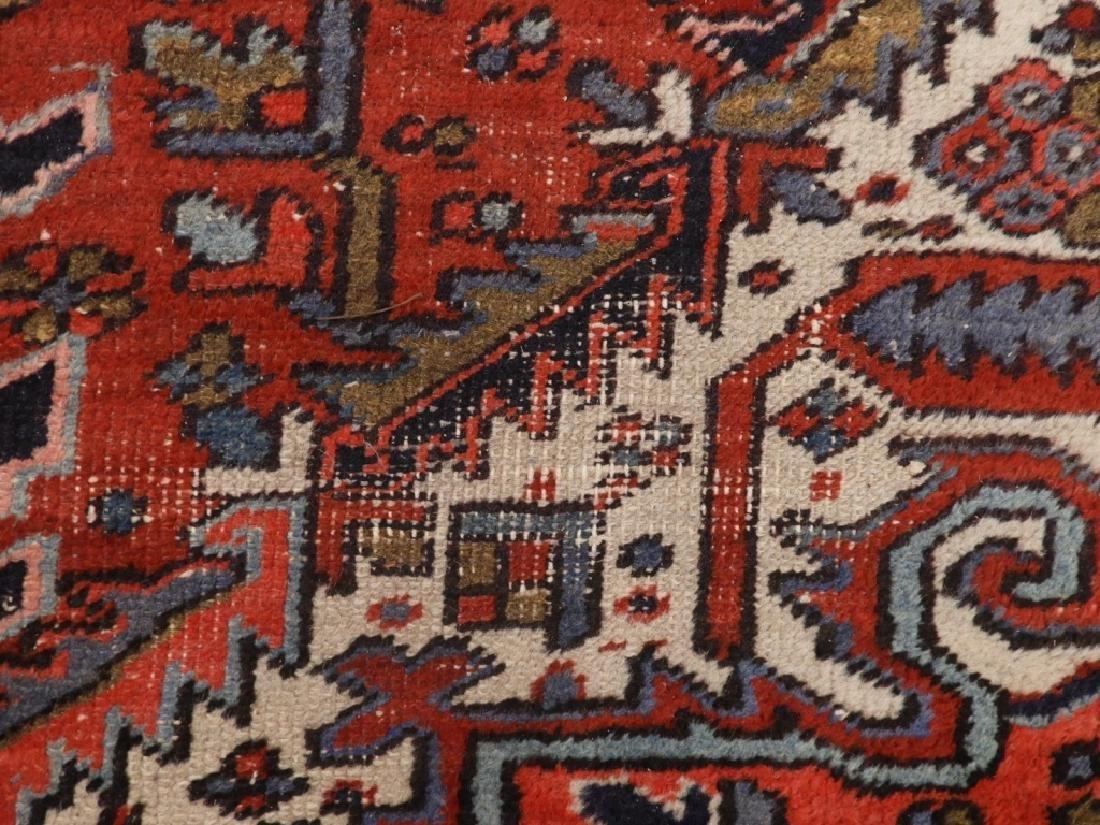 Persian Heriz Wool Carpet Rug - 6