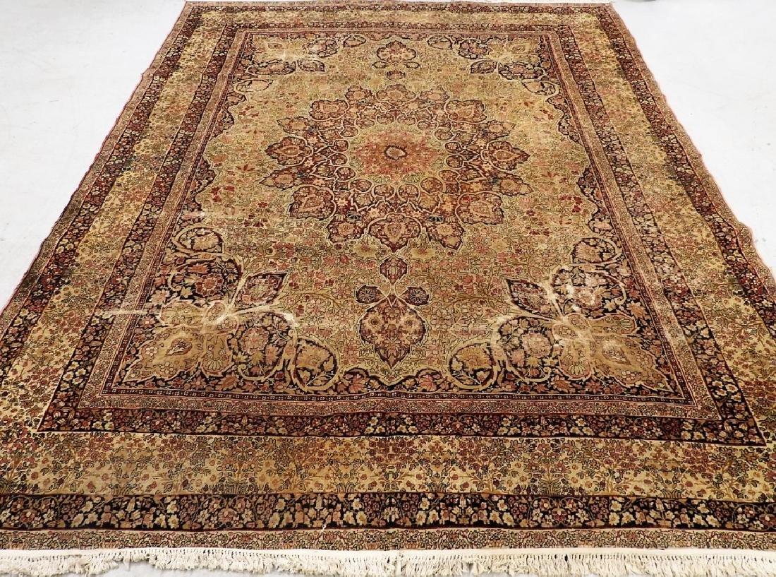 Persian Lavar Kerman Rug Carpet
