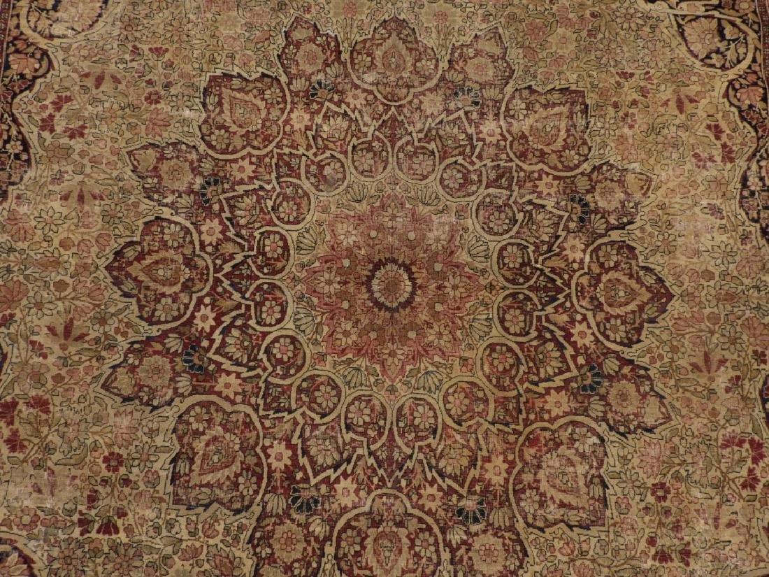 Persian Lavar Kerman Rug Carpet - 2