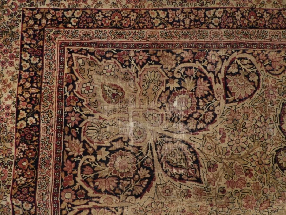Persian Lavar Kerman Rug Carpet - 3