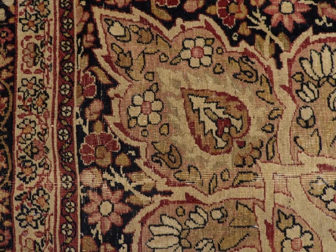Persian Lavar Kerman Rug Carpet - 5