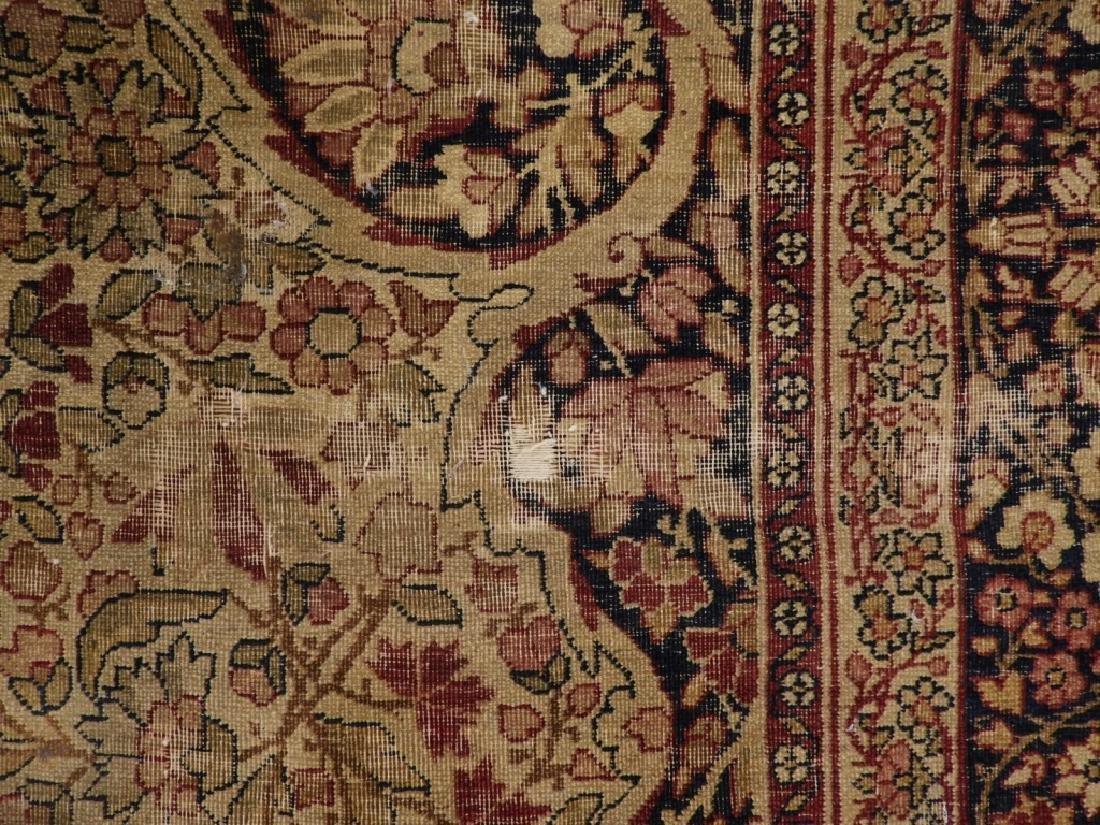 Persian Lavar Kerman Rug Carpet - 6