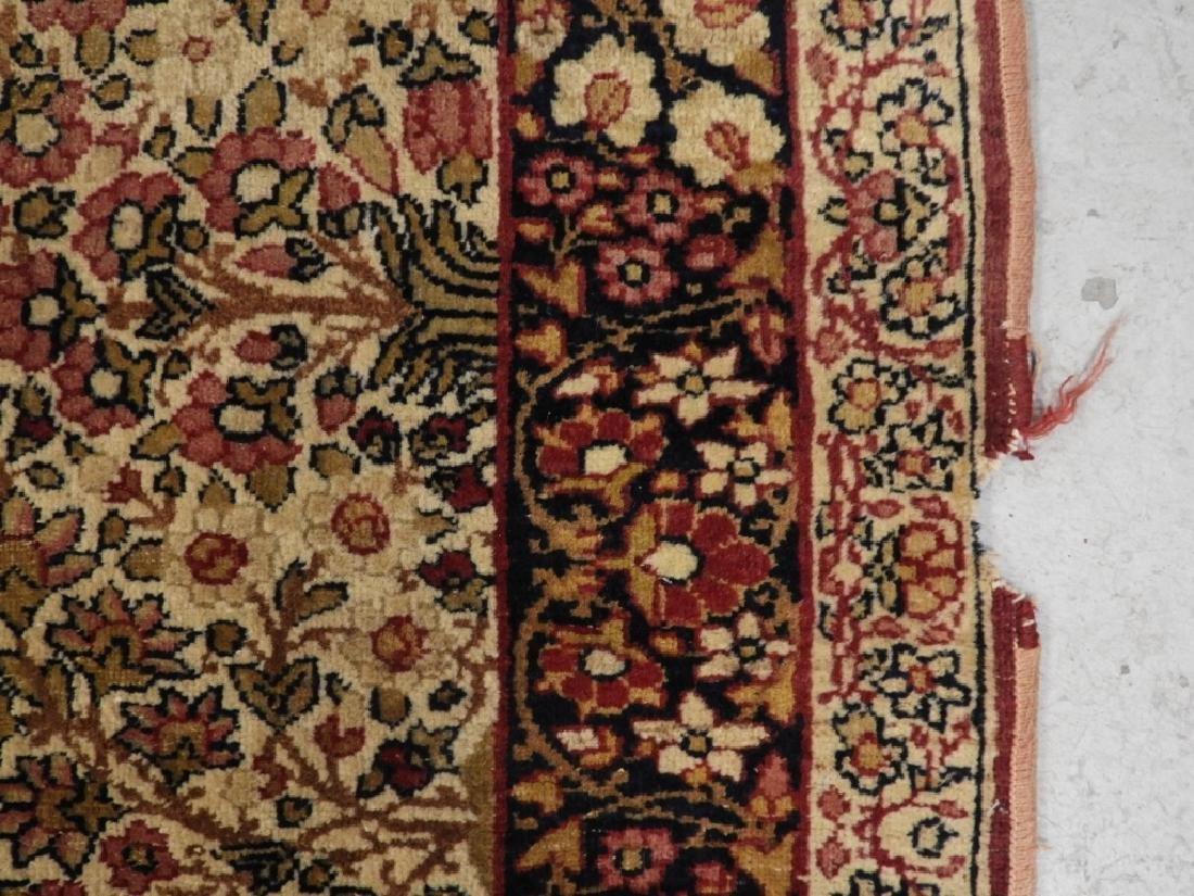 Persian Lavar Kerman Rug Carpet - 8