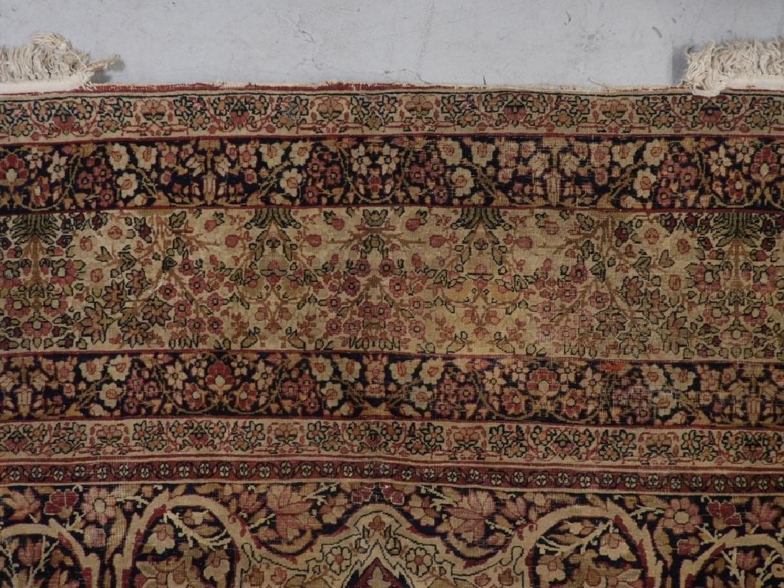 Persian Lavar Kerman Rug Carpet - 9