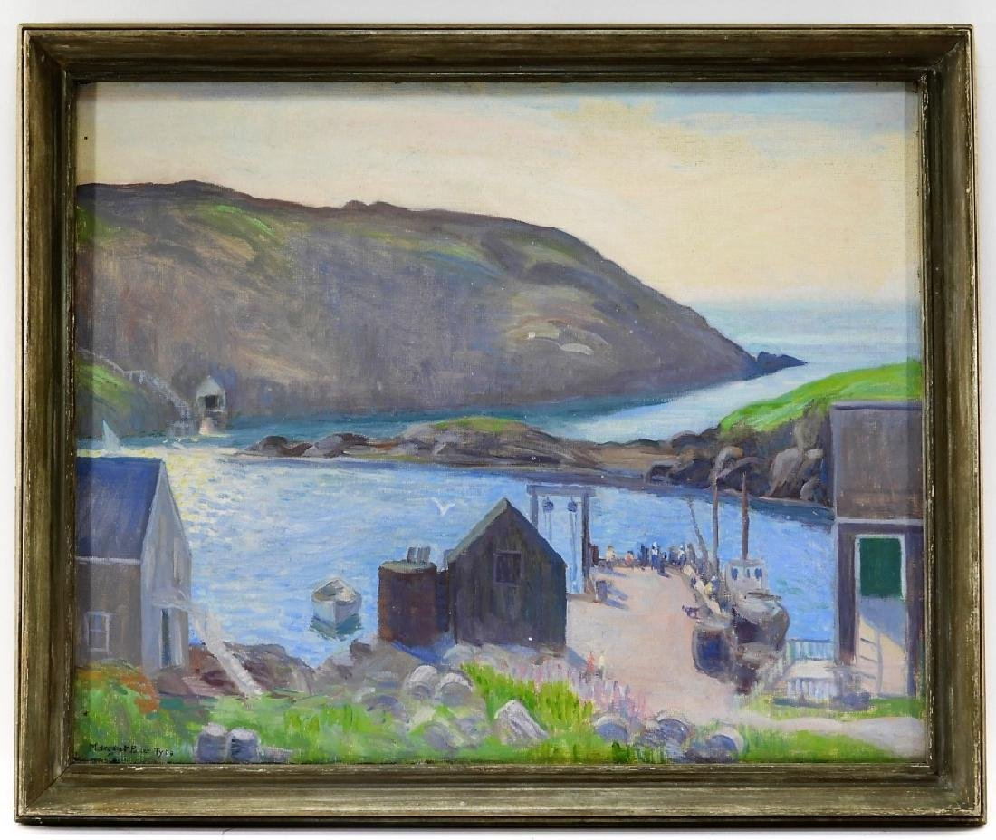 Margaret Fowler Tyng Impressionist O/C Painting