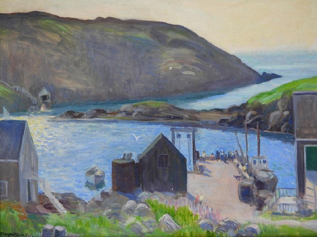 Margaret Fowler Tyng Impressionist O/C Painting - 2