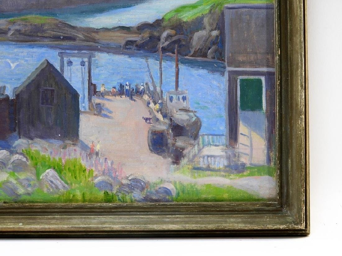 Margaret Fowler Tyng Impressionist O/C Painting - 3