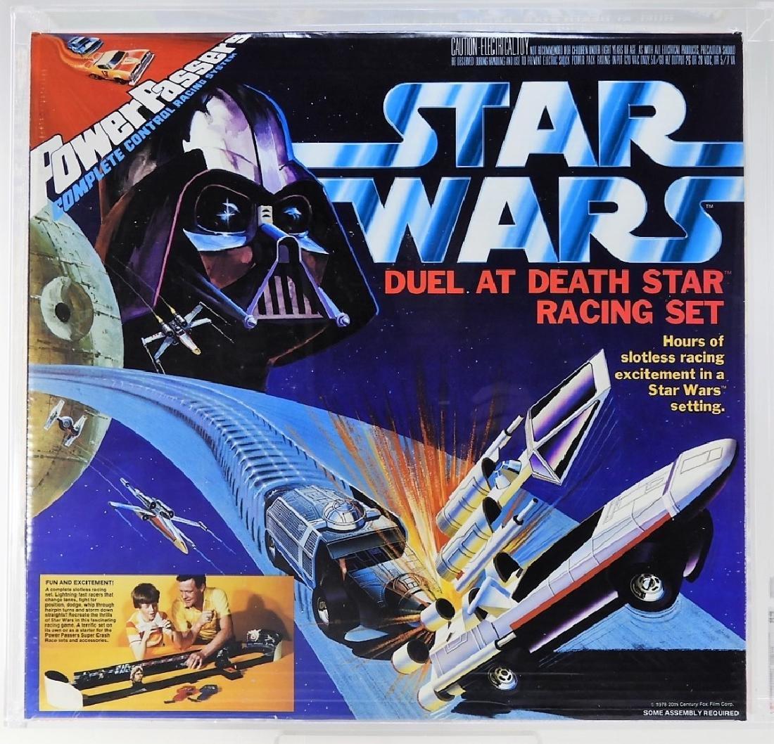 Star Wars Power Passers Death Star Race Set CAS 85