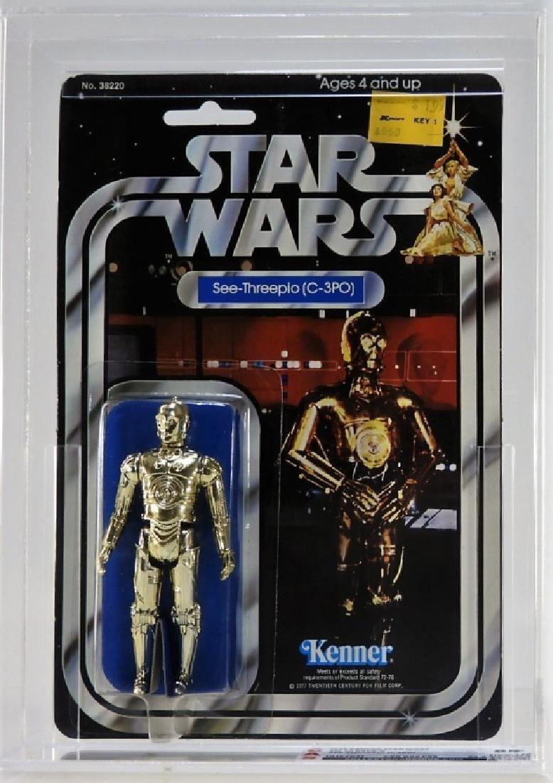 1979 Kenner Star Wars 20 Back C-3PO CAS 85