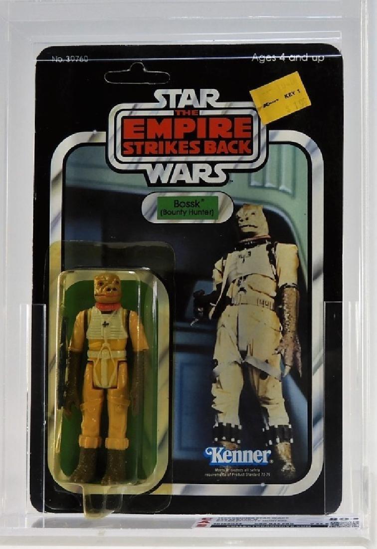 1980 Kenner Star Wars ESB 32 Back B Bossk CAS 80+