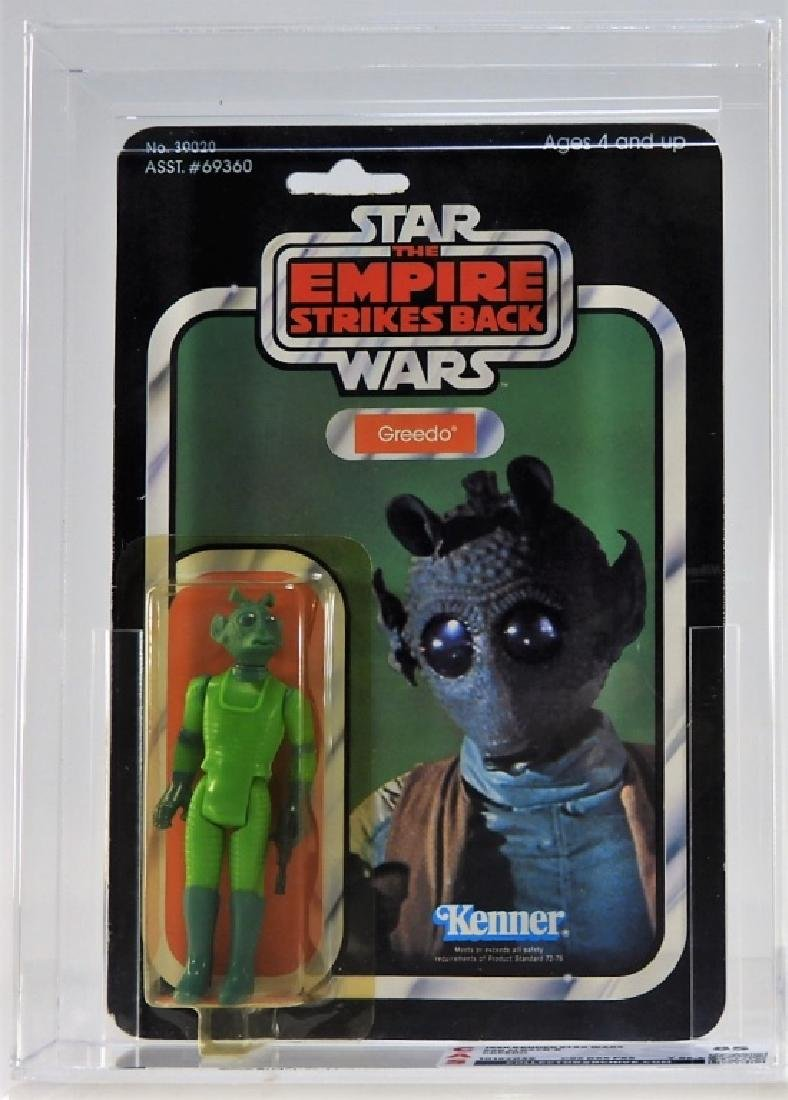 1980 Kenner Star Wars ESB 41 Back Greedo CAS 85