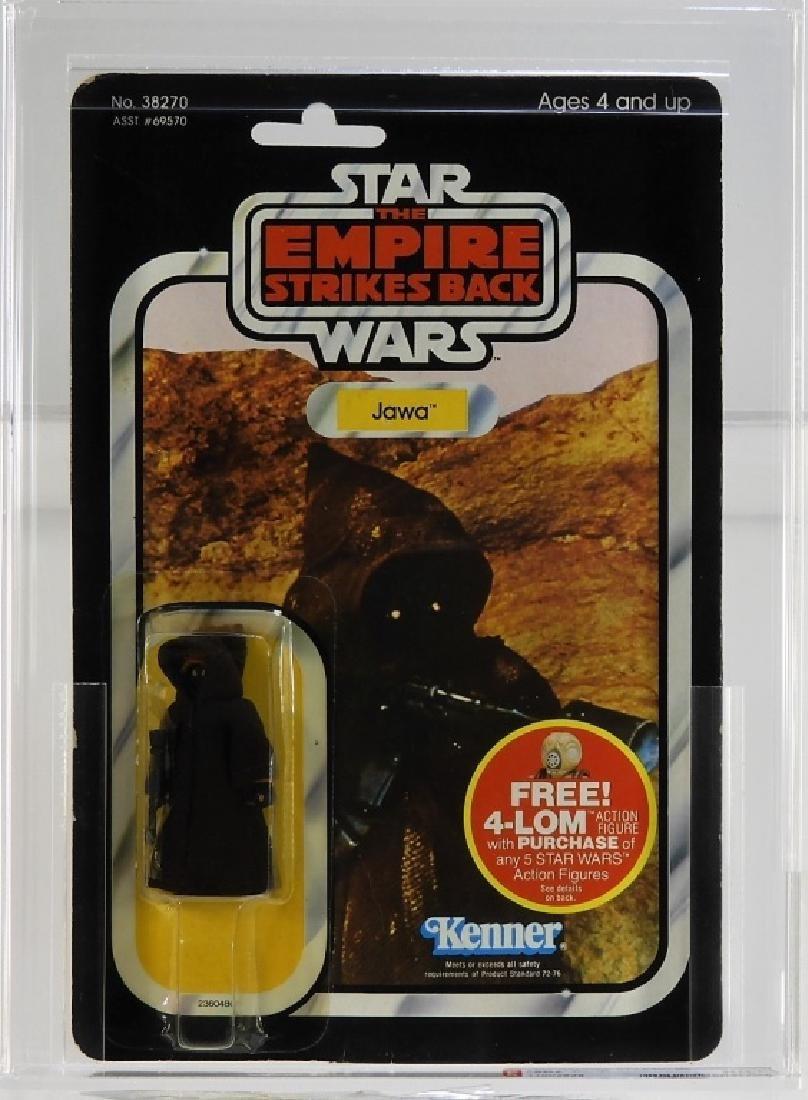 1982 Kenner Star Wars ESB 47 Back Jawa AFA 80+