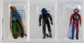 3 AFA Kenner Star Wars ESB Bagged Mail Away Figure