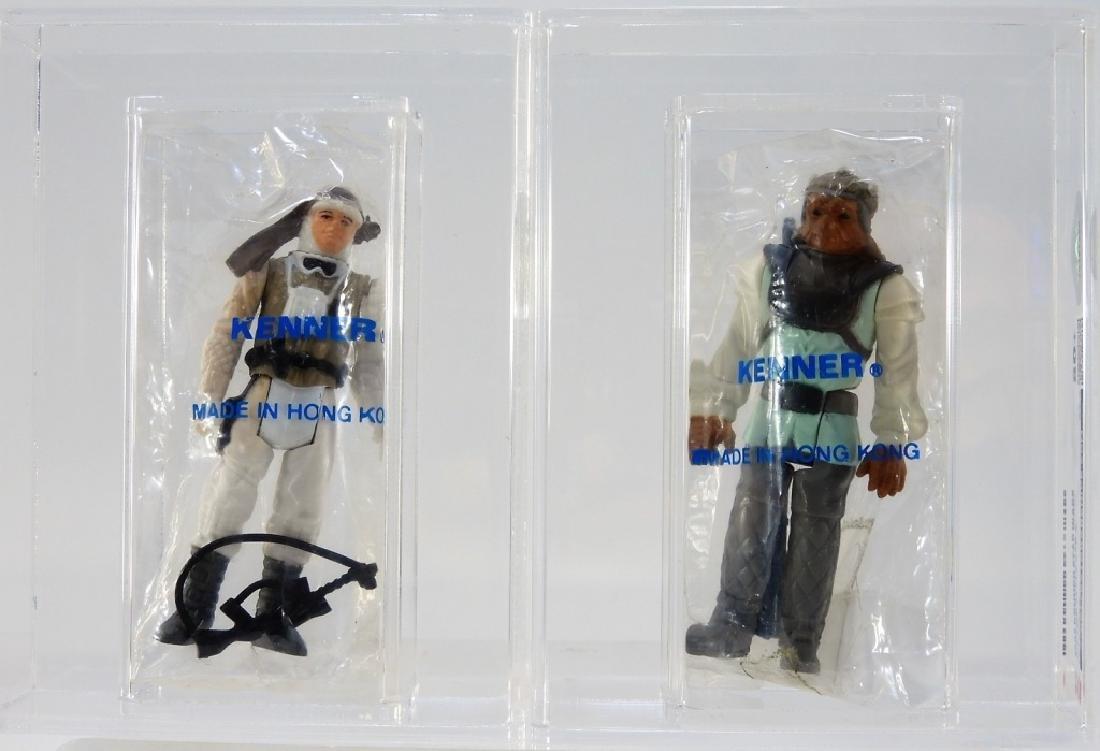 2 Kenner Star Wars Luke Skywalker and Nikto CAS