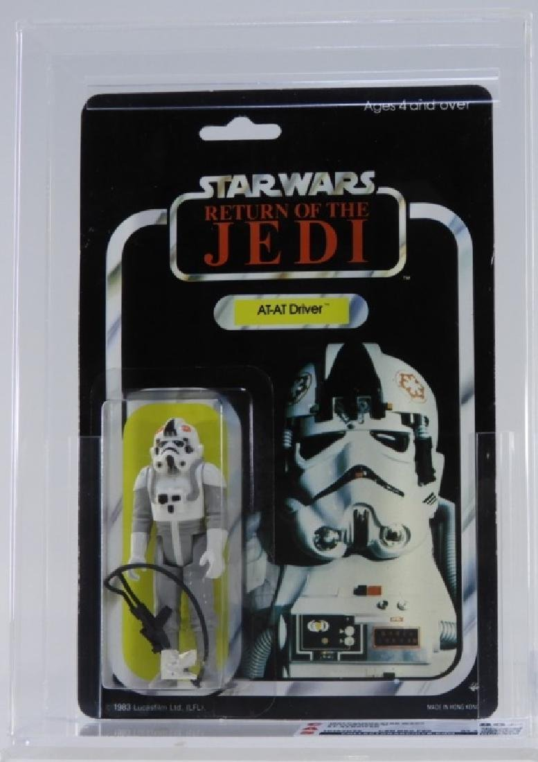 1983 Palitoy Star Wars ROTJ AT-AT Driver CAS 80+