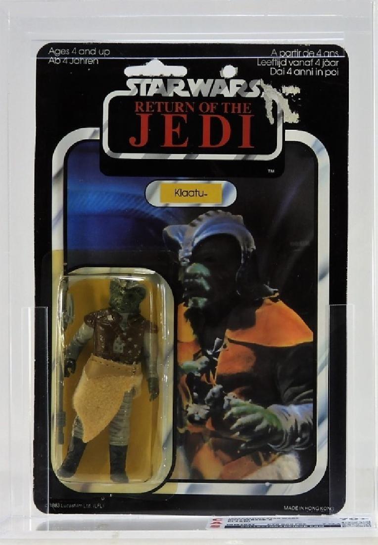 1983 Palitoy Star Wars ROTJ 65 A Klaatu CAS 70+